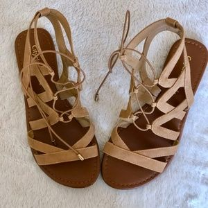 Tie Gladiator Sandals